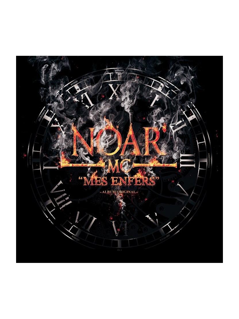 """Album Cd """"Noar MC - Mes Enfers"""""""
