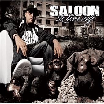 "Album Cd ""Le 4ieme singe - Saloon"""