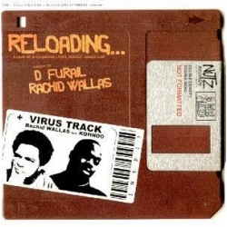 "Maxi vinyl Rachid Wallas ""Reloading"""