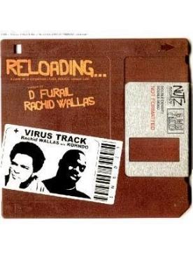 Album vinyl rachid wallas feat khondo