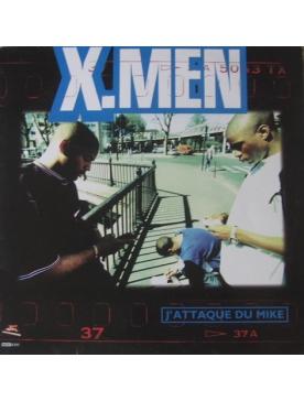"""Maxi vinyl Les X MEN - """"j attaque du mic"""""""