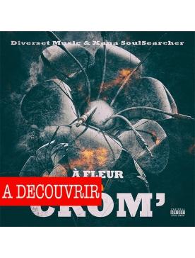 """Album Cd """"diverset Music - A fleur de crom' """""""