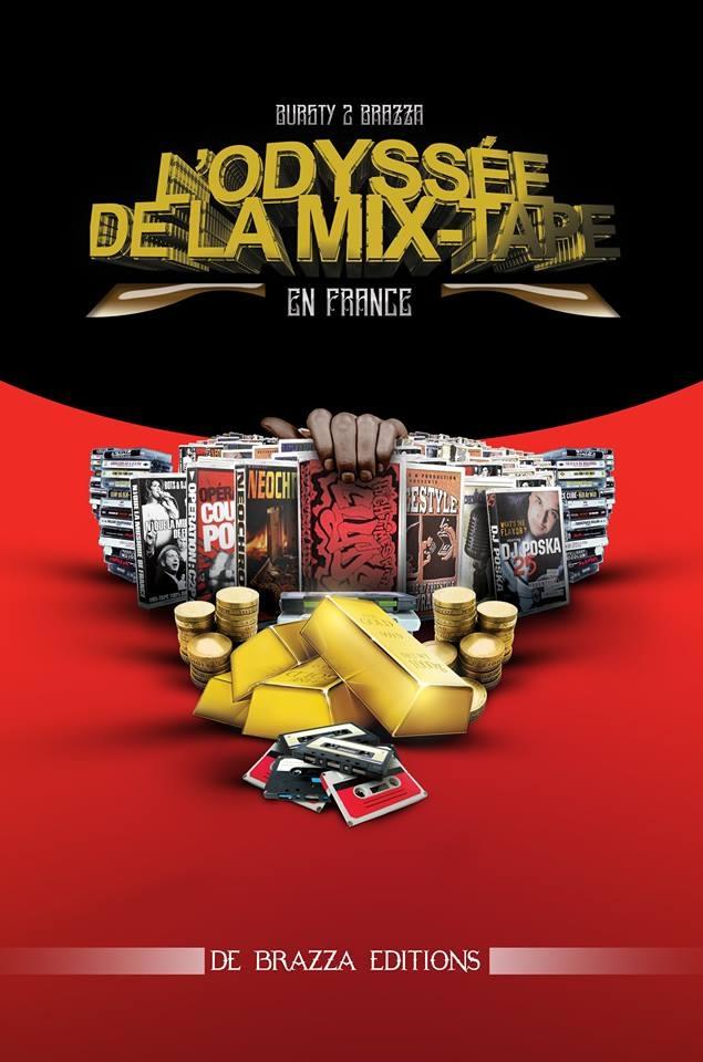 Livre - L'odyssée de la mixtape en France par Bursty de Brazza