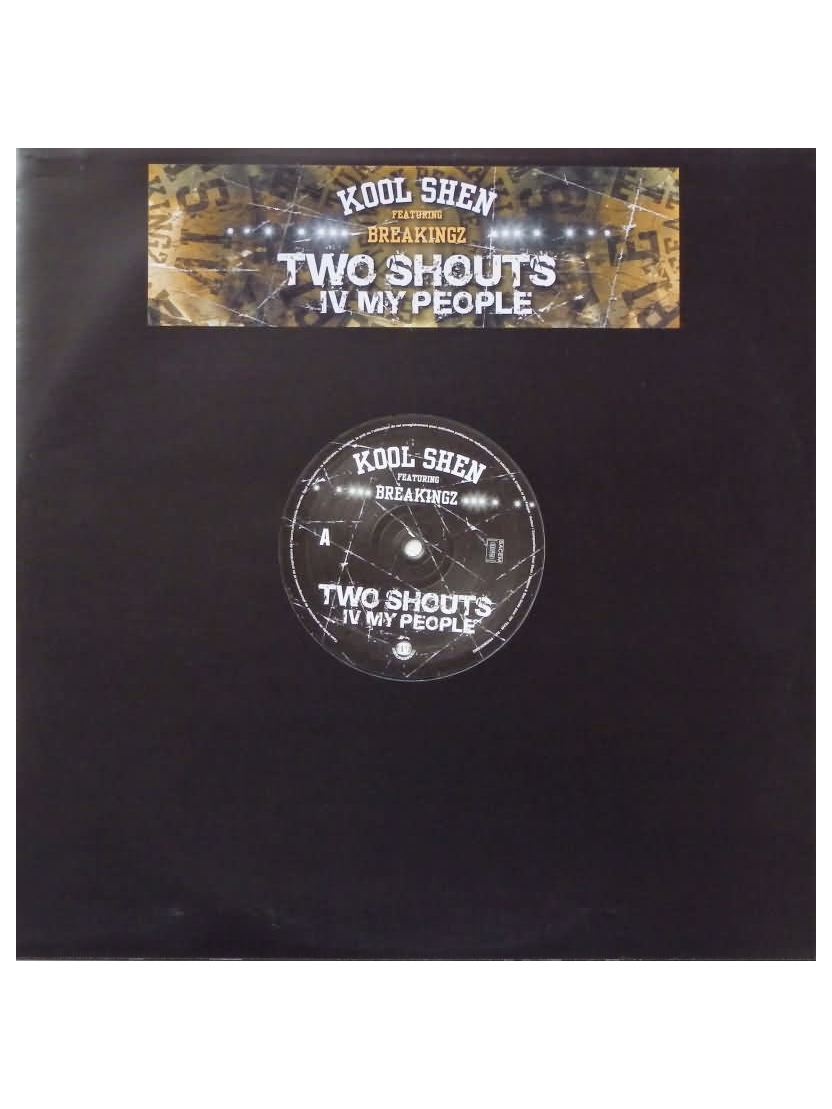 "Album Vinyl ""Kool Shen - Two shouts IV my people"""