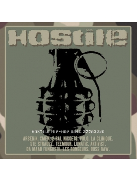 album vinyl compilation hostile