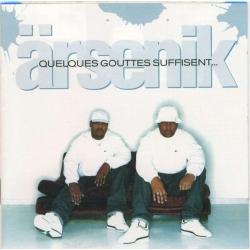 """Album Cd """"Arsenik"""" - Quelques gouttes suffisent"""