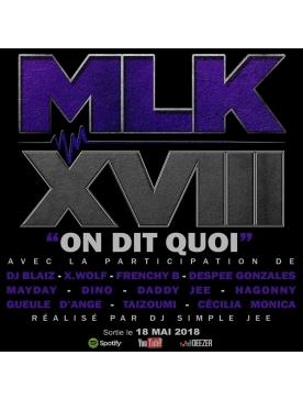 "Album Cd ""MLKXVIII"" - On dit quoi"