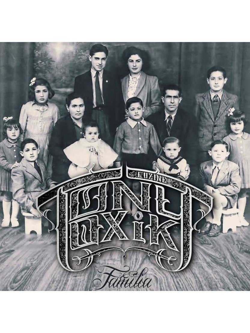 "Album Cd ""Tony Toxik"" - Familia"