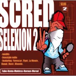 Scred Selexion 2 - Vinyl - Réedition Collector Dédicacée