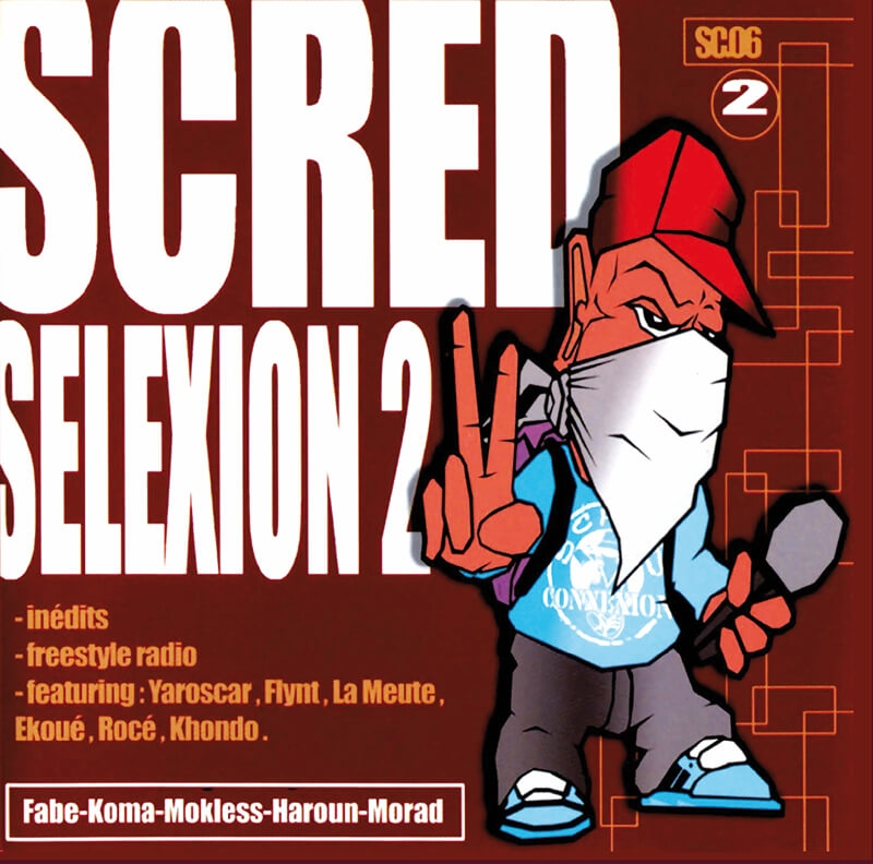 Scred Selexion 2 - Vinyl - Réedition Collector Dédicacée