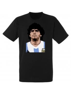 "tee shirt "" DIEGO"" noir"