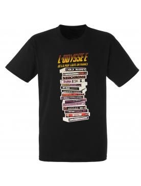 """tee-shirt """"l'odyssée de la mixtape"""" noir"""