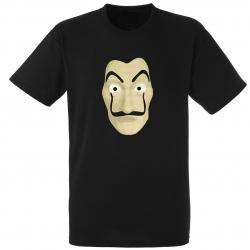 "tee-shirt ""DALI""noir"