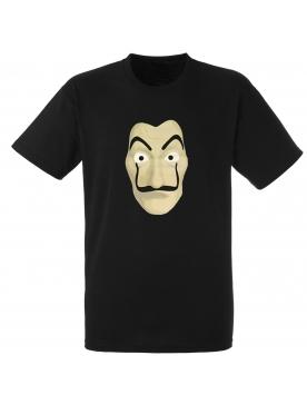 """tee-shirt """"PAPEL""""noir"""