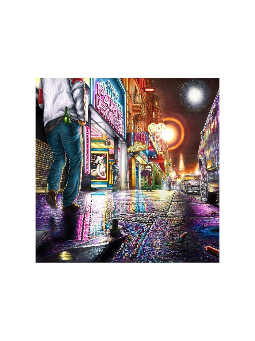 """album cd """"Jo Lucaz """" Paris derniere"""