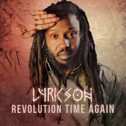 "Album vinyl ""Lyricson"" - Revolution Time Again"