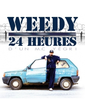 "Album Cd ""Weedy"" - 24 Heures d'un M.C. Yégri"