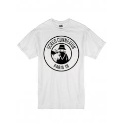 "Tee Shirt ""Classico18"" blanc logo Noir"