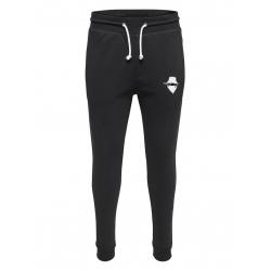 """Pantalon de jogging noir ajusté """"petit visage"""""""