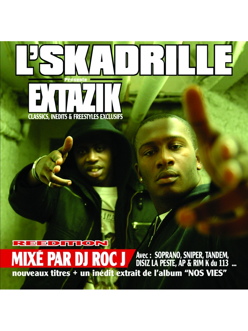 "Album Cd ""L'Skadrille - Extazik Collector"""