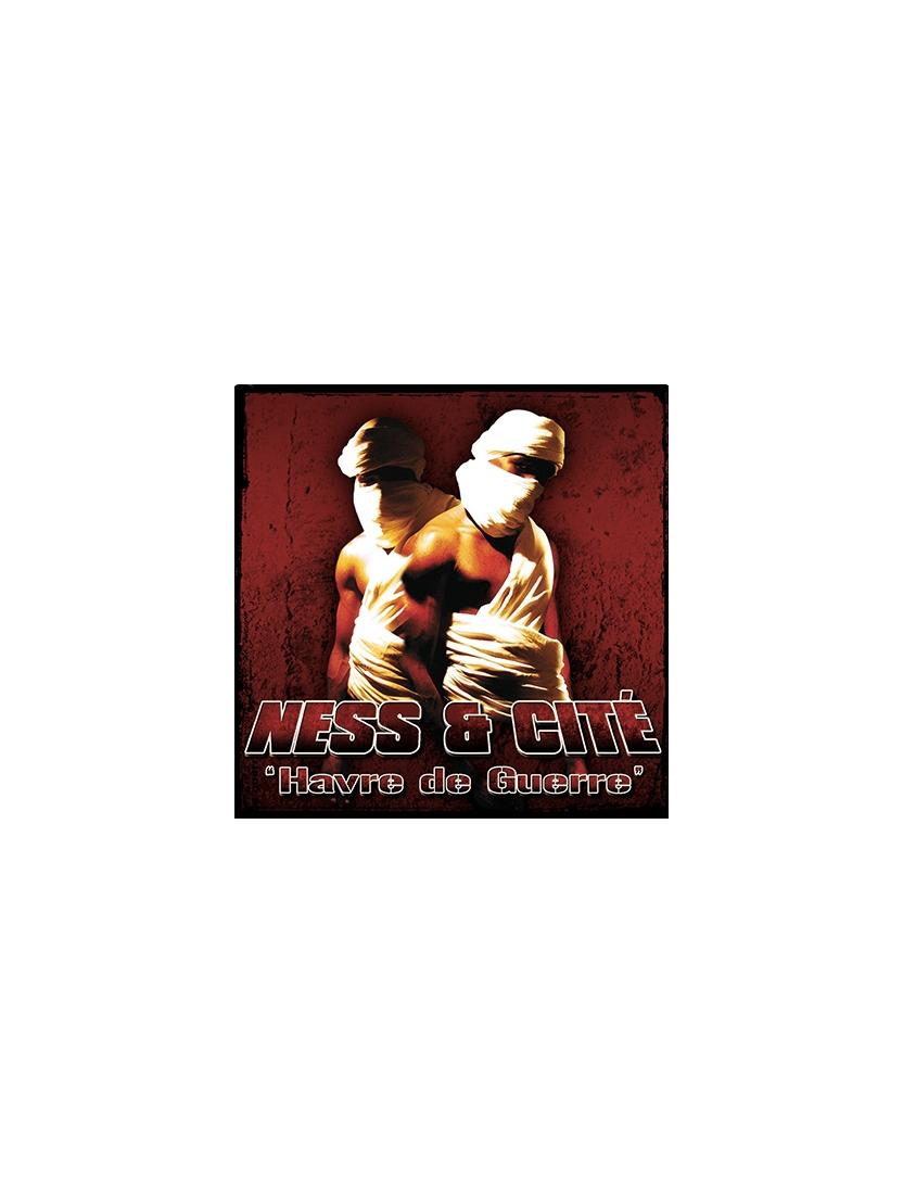 """Album Cd """"Ness & Cité - Havre de Guerre"""""""