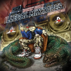 "Album Cd ""Rockin Squat - Illegal Mixtape Réedition 2011"""