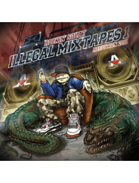 "Album Cd ""Rockin Squat - Illegal Mixtape Réedition 2011"""