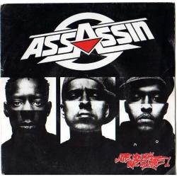 """Maxi vinyle assassin  """"note mon nom sur ta liste"""""""