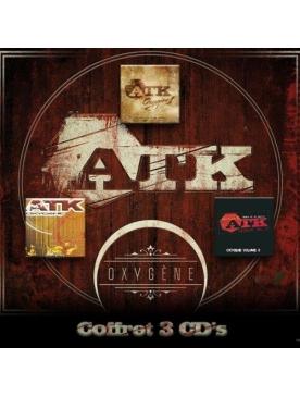 "coffret 4 cd ""ATK"" - Oxygene vol 1, 2 et 3"