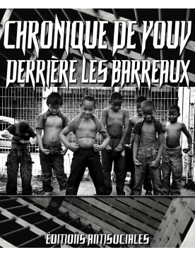 """Livre """" Chronique de Youv """" - Derrière les barreaux"""