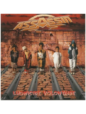 "Album vinyl ""Assassin""-L'Homicide Volontaire"