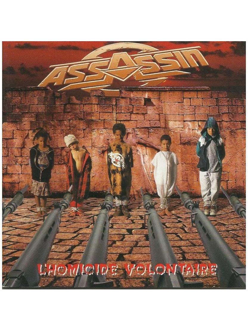 "Album vinyl ""Assassin""-L'Homicide Volontaire"