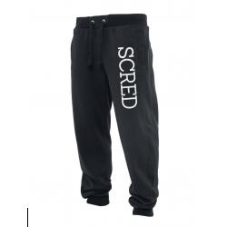 """Pantalon de jogging noir """"Scred Line up"""""""