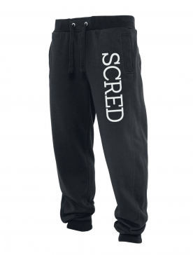 Pantalon de jogging noir Scred Line up