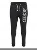 Pantalon de jogging noir ajusté Scred