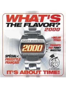"Album CD ""What's the flavor? 2000"""