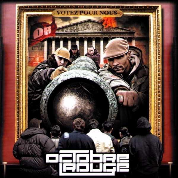 """Album Cd """"Octobre rouge"""" - votez pour nous"""