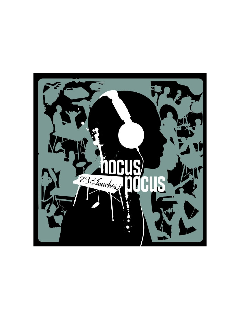 "Album Cd ""Hocus pocus "" - 73 touches"