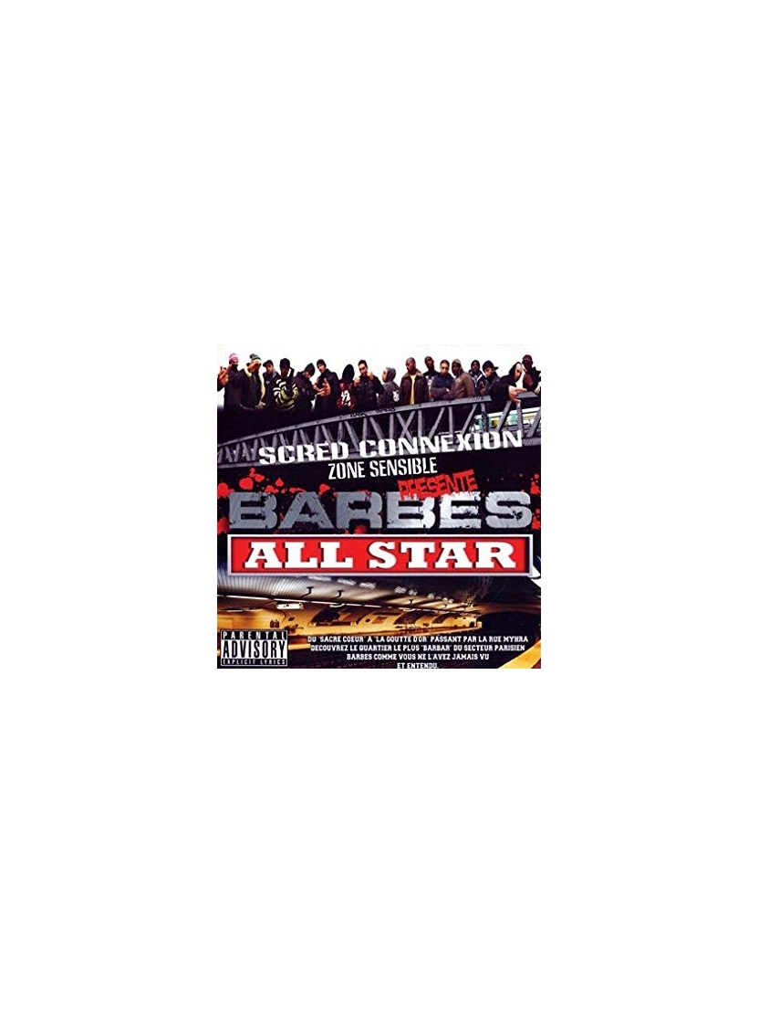 "Album Cd ""Barbes all star"""