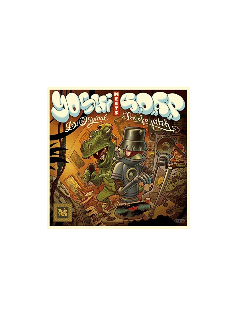 "Album Cd ""Yoshi meets S.O.A.P."" - Di Original Son of a pitch"