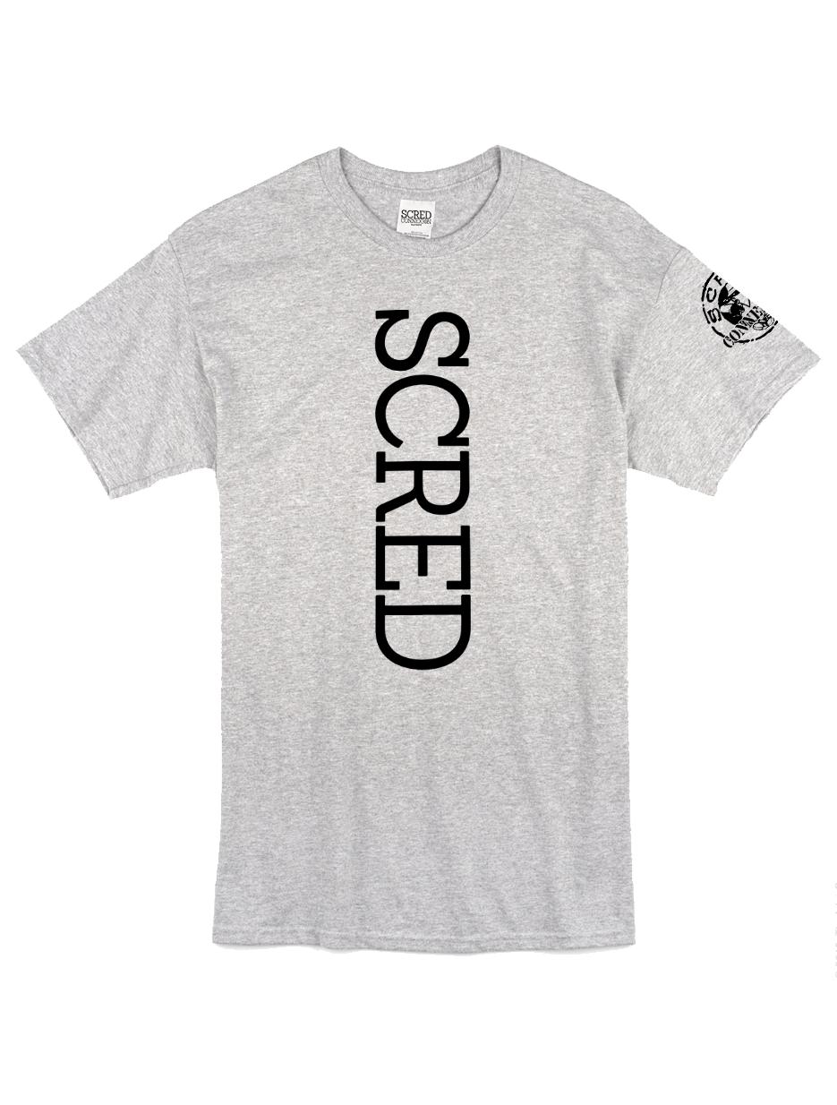 "Tee Shirt ""Line Up"" gris logo Noir"