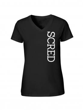 """Tee shirt noir femme """"Line Up"""" logo blanc"""
