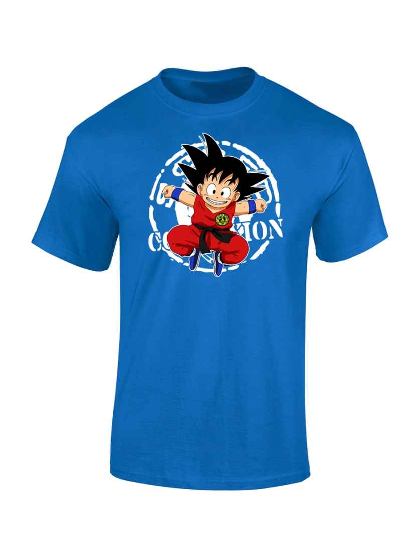 T Shirt bleu enfant DB Scred