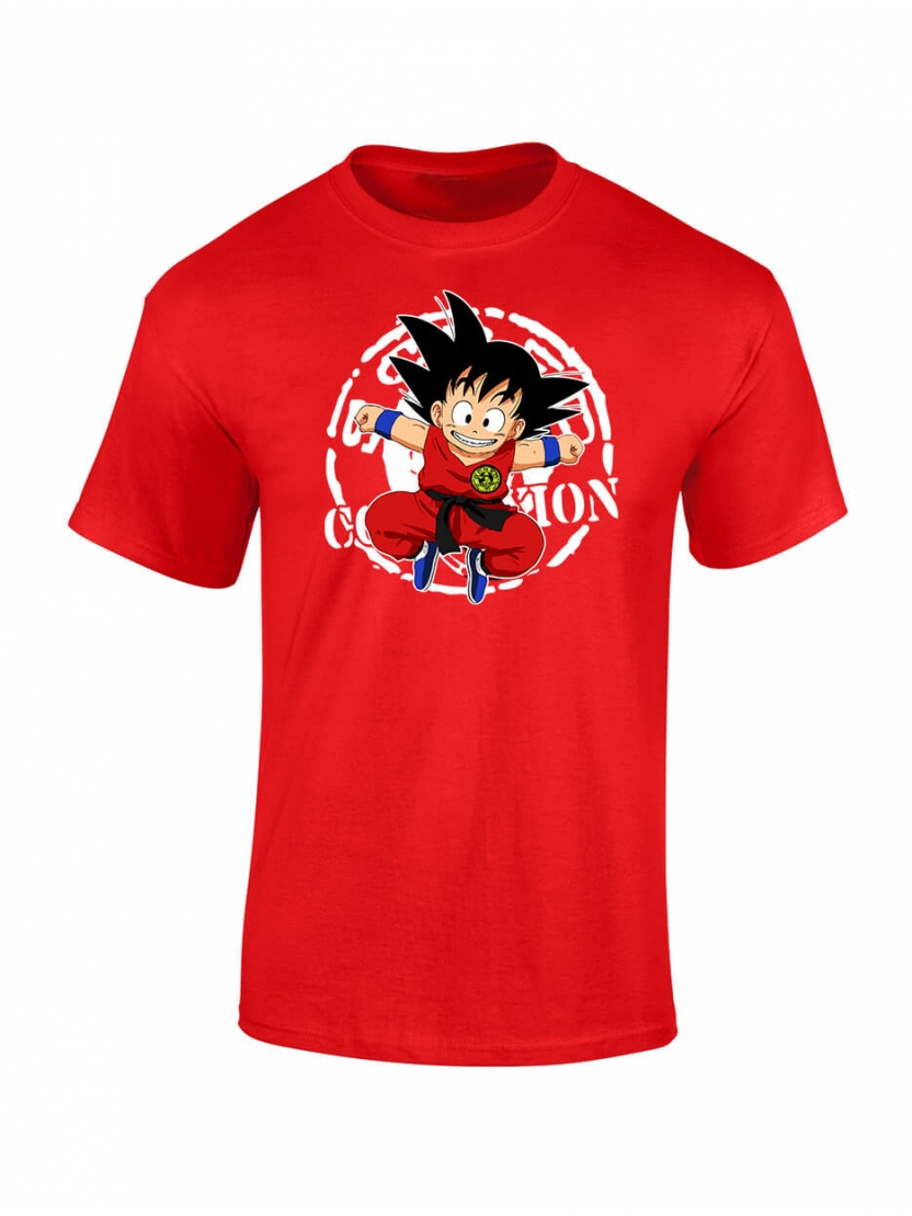 "tee-shirt enfant ""DB Scred"" Rouge"