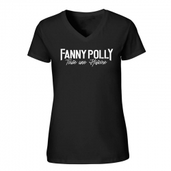 T-Shirt Femme Fanny Polly Noir