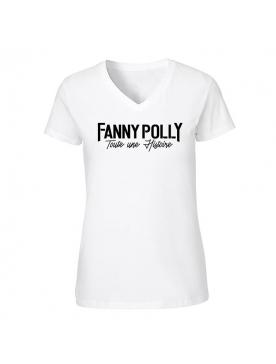 T-Shirt Femme Fanny Polly Blanc