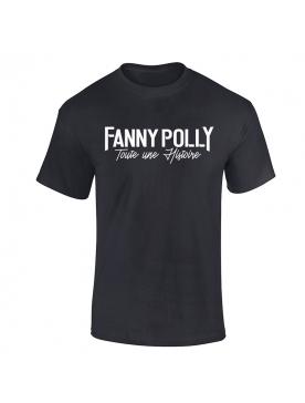 T-Shirt Fanny Polly Noir