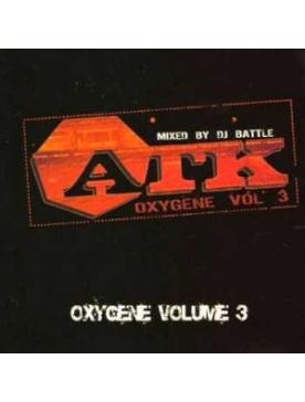 """Album Cd """"ATK"""" - Oxygène vol.3"""