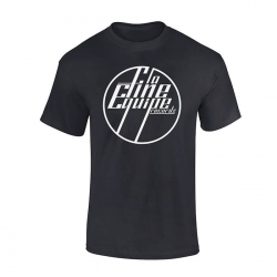 "tee-shirt ""La Fine Equipe"" noir logo blanc"