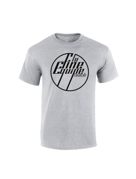 "Tee Shirt ""La Fine Equipe"" gris logo Noir"